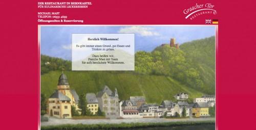 Firmenprofil von: Leckerbissen Restaurant Graacher Tor in Bernkastel Kues