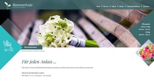 Firmenprofil von: Hochzeitsfloristik in Schleswig: Blumenwerkstatt Schönherr