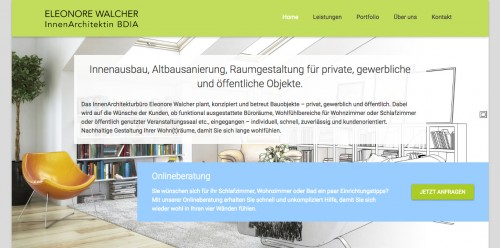 Firmenprofil von: Innenarchitektin in Augsburg: Eleonore Walcher