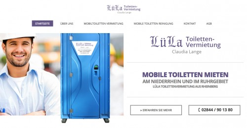 Firmenprofil von: Toiletten mieten in Rheinberg und Umgebung
