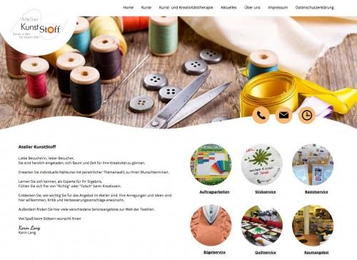 Firmenprofil von: Nähkurse im Atelier KunstStoff in Aschaffenburg