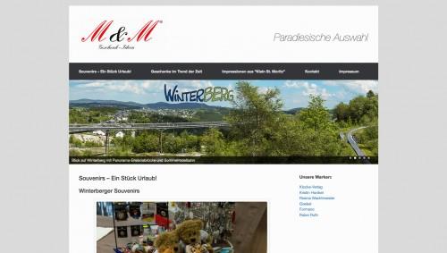 Firmenprofil von: M & M Geschenkideen in Winterberg: einzigartige Souvenirs, die Erinnerungen wecken