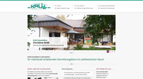 Firmenprofil von: Seriöser Immobilienmakler im Raum Darmstadt: Krüll Immobilien