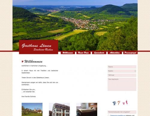 Firmenprofil von: Gasthaus in Sinsheim: Gasthaus zum Löwen
