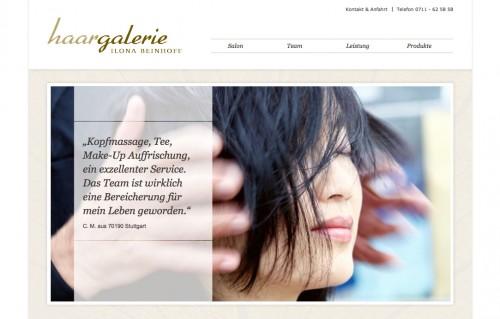 Firmenprofil von: Haargalerie Ilona Beinhoff in Stuttgart