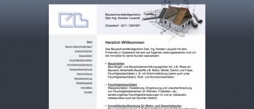 Firmenprofil von: Bausachverständigenbüro Dipl.-Ing. Karsten Leupold in Düsseldorf: Kaufberatung für Häuser, Wohnungen und Gewerbebauten