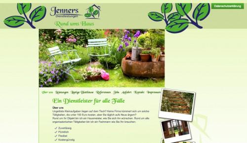 Firmenprofil von: Jenners Dienstleistungen in Rostock: Garten- und Landschaftspflege auf Anfrage