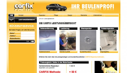 Firmenprofil von: Autoreparatur in Potsdam: Carfix plus GmbH