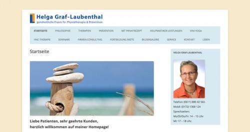 Firmenprofil von: Physiopraxis Helga Graf-Laubenthal in Wiesbaden