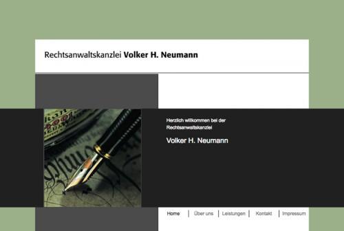 Firmenprofil von: Kanzlei Volker H. Neumann: Erfahrener Rechtsanwalt in Ludwigshafen bei Grünstadt