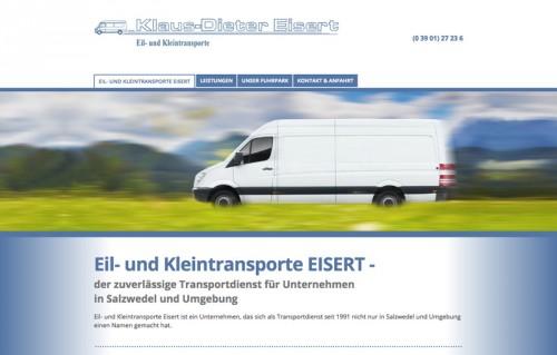 Firmenprofil von: Eil- und Kleintransporte Eisert in Salzwedel