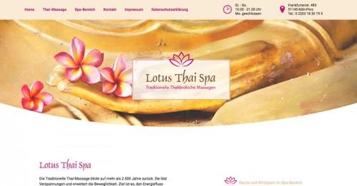 Firmenprofil von: Entspannende traditionelle Thai Massage: Lotus Thai Spa in Köln