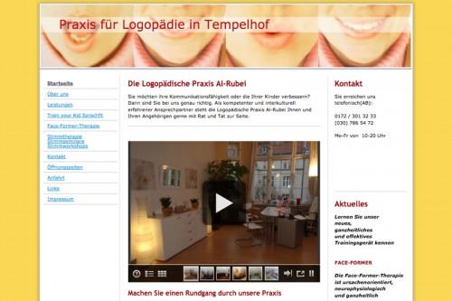 Firmenprofil von: Logopädische Praxis in Berlin-Tempelhof: Praxis Al-Rubei