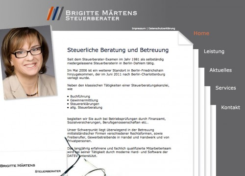 Firmenprofil von: Steuerberatung Märtens in Berlin