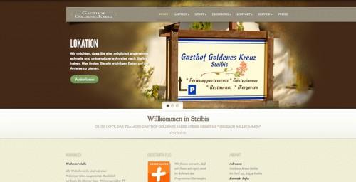 Firmenprofil von: Gemütliche Pension in der Region Oberstaufen: Gasthof Goldenes Kreuz lädt zum Entspannen ein