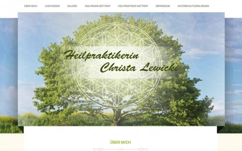 Firmenprofil von: Heilpraktikerin Christa Lewicki in Bottrop