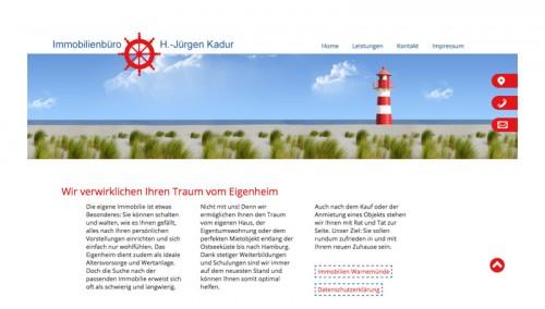 Firmenprofil von: Immobilien in Warnemünde: Immobilien Kadur