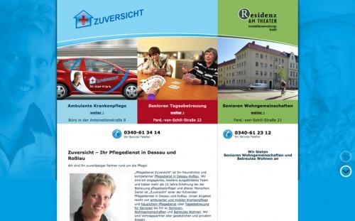 Firmenprofil von: Ambulante Krankenpflege Zuversicht in Dessau-Roßlau