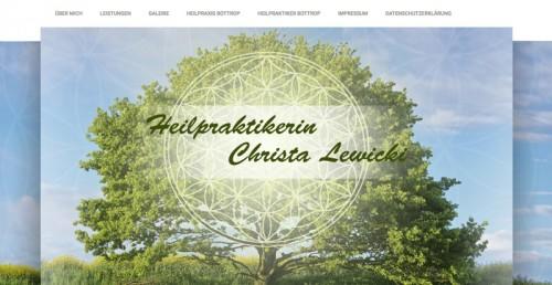 Firmenprofil von: Für Körper und Geist: Naturheilpraxis Christa Lewicki in Bottrop
