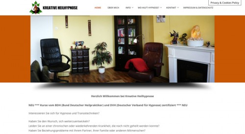 Firmenprofil von: Kreative Heilhypnose in Haltern