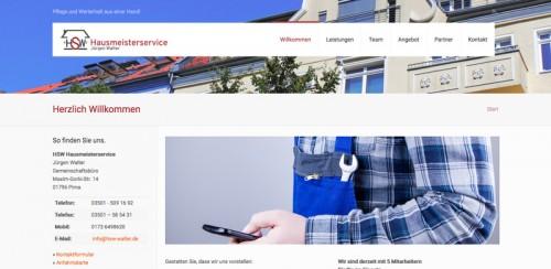 Firmenprofil von: Perfekte Pflege und solider Werterhalt der Immobilie: HSW Hausmeisterservice