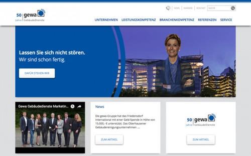Firmenprofil von: gewa Gesellschaft für Gebäudereinigung und Wartung mbH in Oberhausen: Sauberes Umfeld durch gewa GebäudeDienste