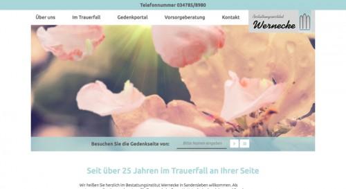 Firmenprofil von: Die richtige Vorsorge: Bestattungsinstitut Wernecke in Arnstein