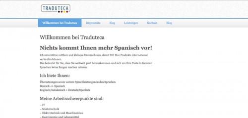 Firmenprofil von: Übersetzungsbüro Traduteca Sprachen in Hanau