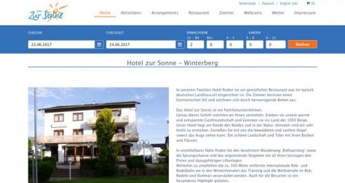 Firmenprofil von: Hotel zur Sonne in Winterberg: für einen abwechslungsreichen Urlaub