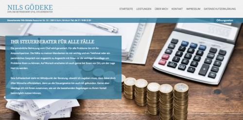 Firmenprofil von: Steuerberater Nils Gödeke in Stuhr, Brinkum bei Bremen