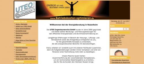 Firmenprofil von: Energieberater UTEO Ingenieurservice GmbH in Rosenheim