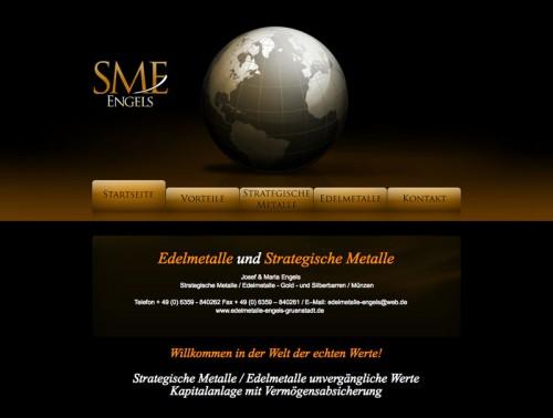 Firmenprofil von: Edelmetalle und Strategische Metalle J. & M. Engels in Grünstadt