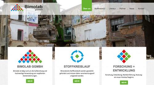 Firmenprofil von: Ingenieurstechnische Beratung zum Thema Stoffkreislauf und Abfallaufbereitung: Bimolab gGmbH in Soest