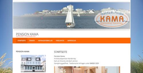 Firmenprofil von: Pension Kama auf Norderney