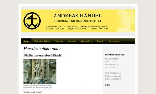 Firmenprofil von: Steinmetz & Bildhauermeister Händel in Dresden