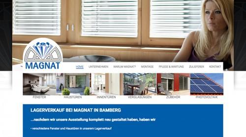 Firmenprofil von: Magnat Bauelemente in Bamberg