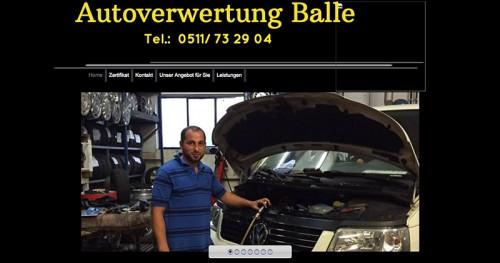 Firmenprofil von: Gut erhaltene Ersatzteile wiederverwenden: Autoverwertung Balle in Langenhagen