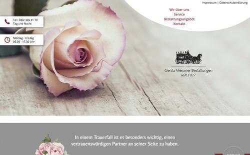 Firmenprofil von: Traditionelle Erdbestattung in Berlin: Gerda Messmer Bestattungen in Berlin