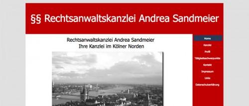 Firmenprofil von: Rechtsanwaltskanzlei Sandmeier in Köln