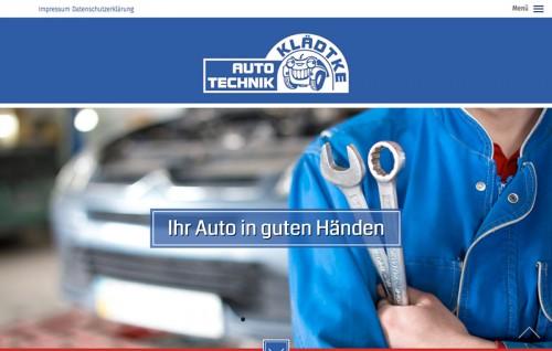 Firmenprofil von: Autowerkstatt in Stadtroda: Auto-Technik Klädtke