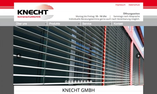 Firmenprofil von: Ihr idealer Partner für Sonnenschutz zwischen Heilbronn und Bietigheim:  Sonnenschutztechnik Knecht GmbH
