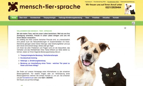 Firmenprofil von: Tierhaltungsberatung in Köln