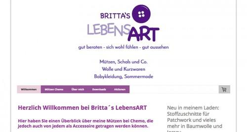 Firmenprofil von: Mützen in der Region Pforzheim: Britta´s LebensART