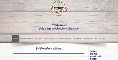 Firmenprofil von: Captain Pahlen Ferienanlage in Zingst