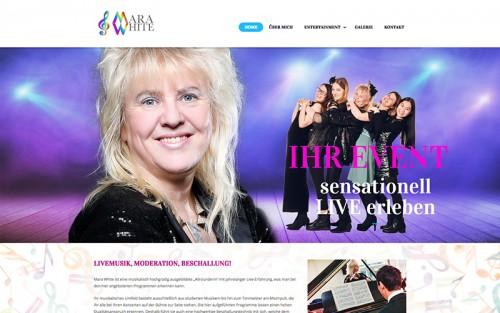 Firmenprofil von: Professionelle Livemusik: Mara White aus Berlin
