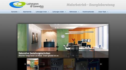 Firmenprofil von: Malerbetrieb Lohmann & Gawehn in Hamm: Fachliches Wissen für eine brillante Umsetzung