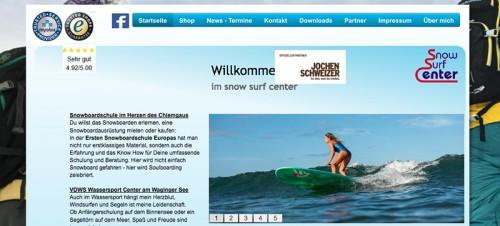 Firmenprofil von: VDWS Wassersportcenter Waginger See