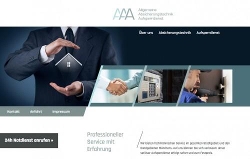 Firmenprofil von: AAA - Hirt e.k. Allg. Absicherungstechnik und Aufsperrdienst in München