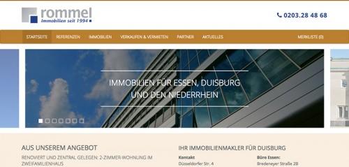 Firmenprofil von: Rommel Immobilien in Duisburg