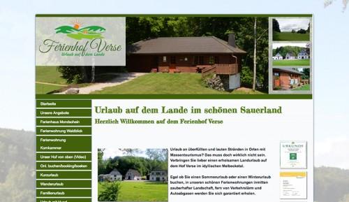 Firmenprofil von: Ferienhof Verse im Sauerland – Urlaub auf dem Lande